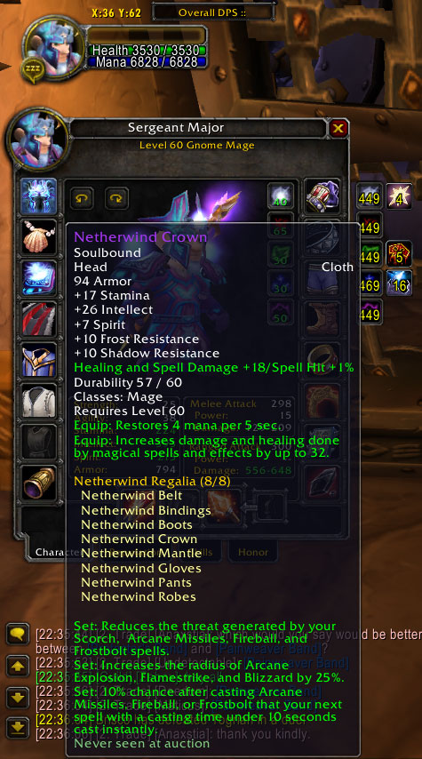 lvl 60 Mage / Priest account