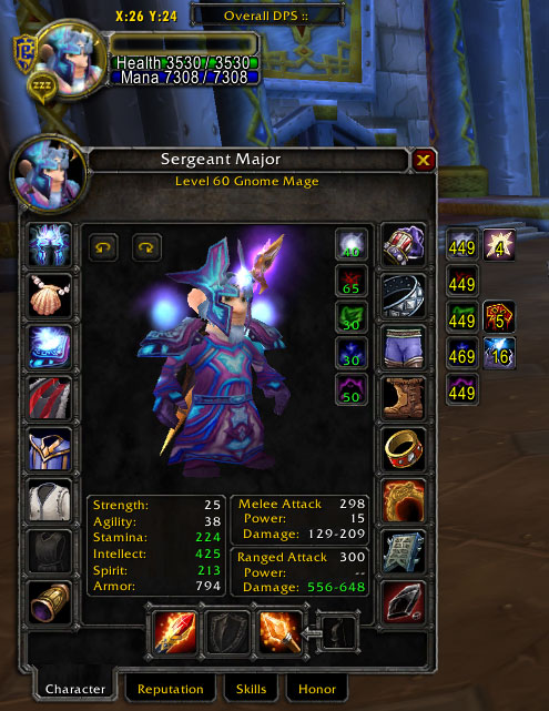 Lvl 60 Mage Priest Account